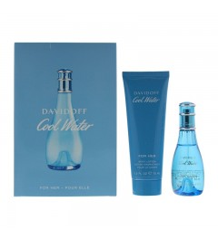 Davidoff Cool Water Woman 30MLBody Lotion 75ML Gift set