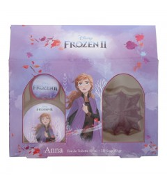 Disney Frozen 2 Anna : Eau de Toilette - Soap 50g Gift set