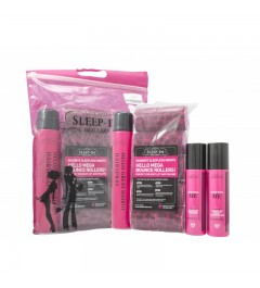 Sleep-in Rollers Girls Night Out : 10 Rollers Shampoo - Conditioner - Hair Spray 400ml Gift set