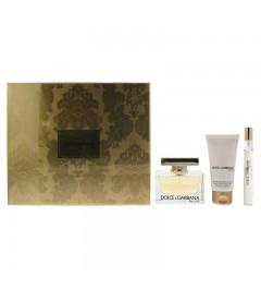Dolce & Gabbana The One 3 Piece Body Lotion 50ml 10ml Gift Set
