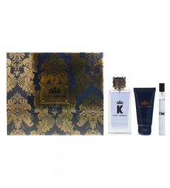 Dolce & Gabbana K 3 Piece Aftershave Balm 50ml 10ml Gift Set
