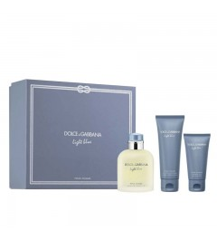 Dolce & Gabbana Light Blue Pour Homme EDT 125ml + ASB 75ml + SHOWER GEL 50ml Gift set