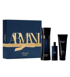 Giorgio Armani Code Pour Homme EDT 75ml + EDT 15ml + SHOWER GEL 75ml Gift set